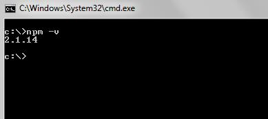 npm 2.1.14